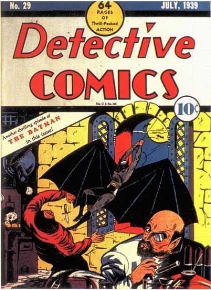 Batman - Detective Comics 29 - The Batman Meets Doctor Death