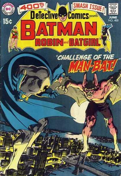 Batman - Detective Comics 400 - Challenge of the Man-Bat!