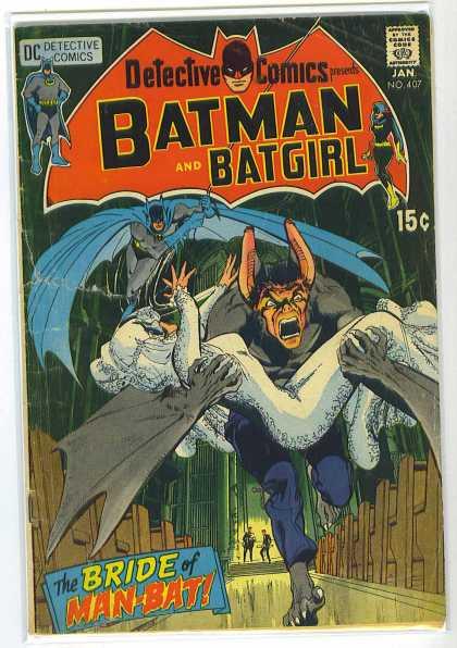 Batman - Detective Comics 407 - The Bride of Man-Bat!