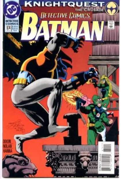 Batman - Detective Comics 674 - Knightquest: The Crusade: Out-Gunned