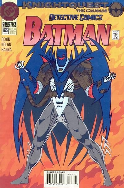 Batman - Detective Comics 675 - Knightquest: The Crusade: Midnight Duel