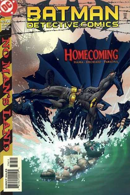 Batman - Detective Comics 736 - No Man's Land: Homecoming