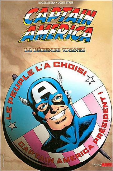 Captain America - La Légende Vivante 1 - Captain America : La légende vivante