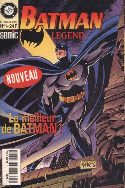 Batman Legend 1 - Batman Legend