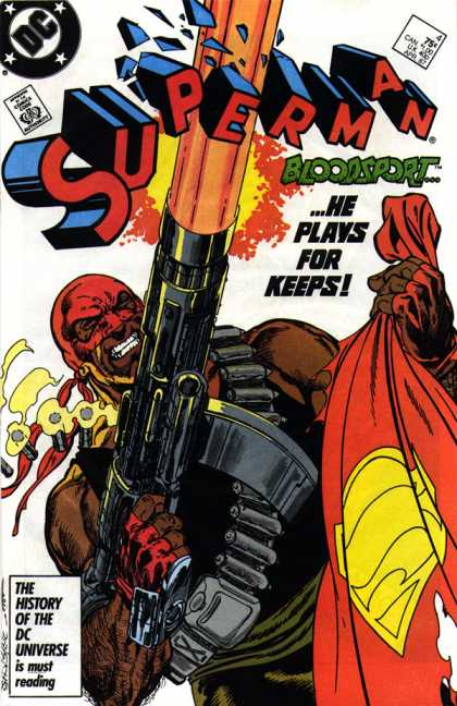 Superman 4 - BLOODSPORT!