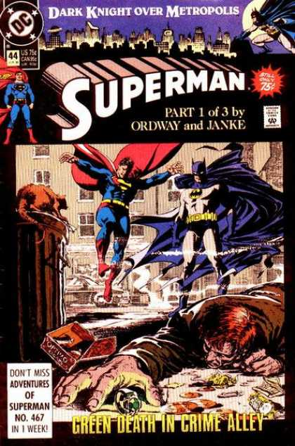 Superman 44 - Green Death in Crime Alley