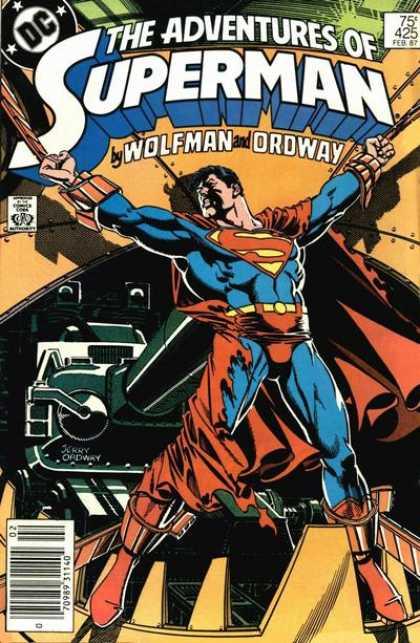 The Adventures of Superman 425 - Going the Gauntlet