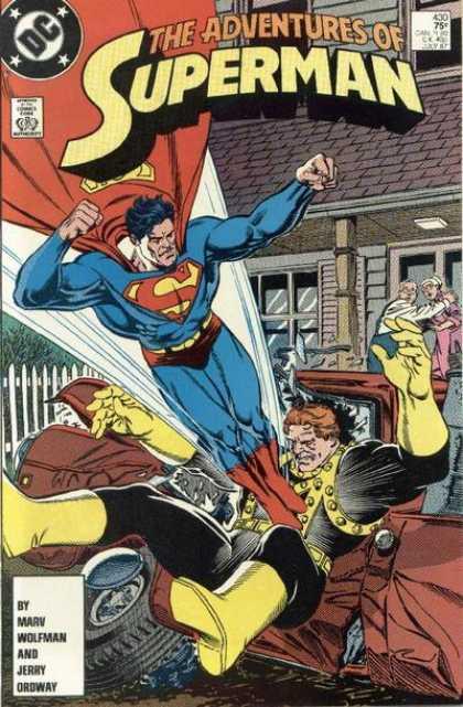 The Adventures of Superman 430 - Homeward Bound!