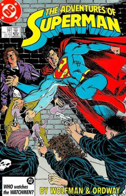 The Adventures of Superman 433 - A Tragedy in Five Acts