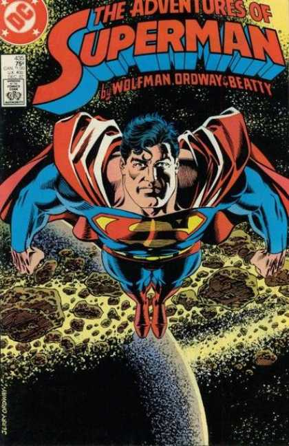 The Adventures of Superman 435 - The Circle Turns