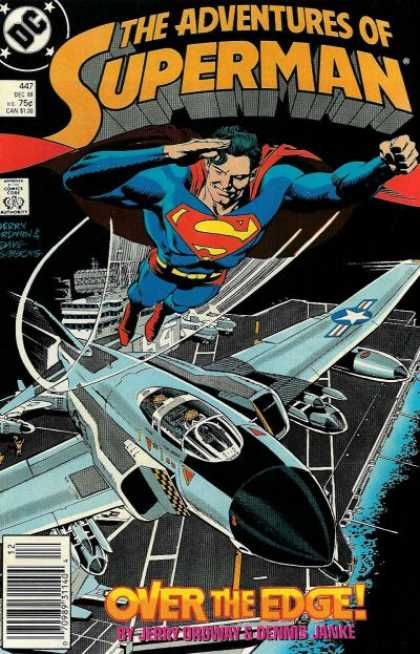 The Adventures of Superman 447 - Over the Edge