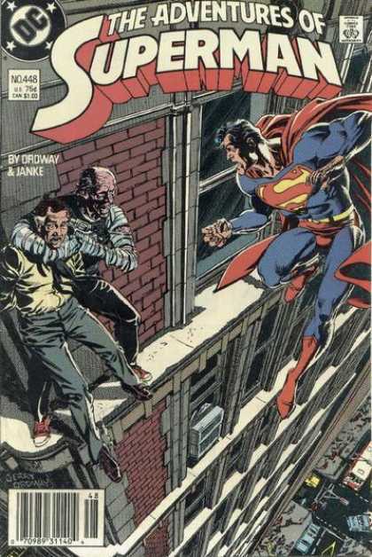 The Adventures of Superman 448 - The Ledge