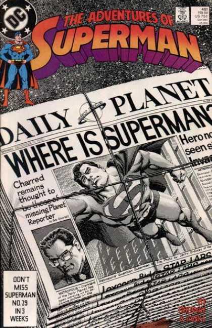 The Adventures of Superman 451 - Dangerous Ground