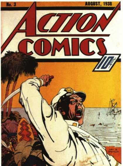 Action Comics 3 - The Blakely Mine Disaster