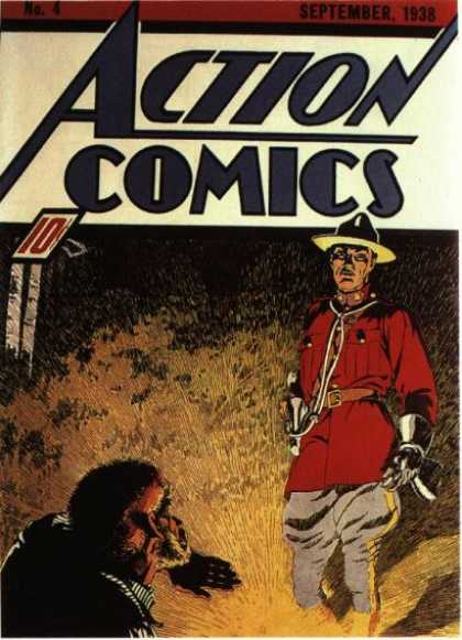 Action Comics 4 - Superman Plays Football