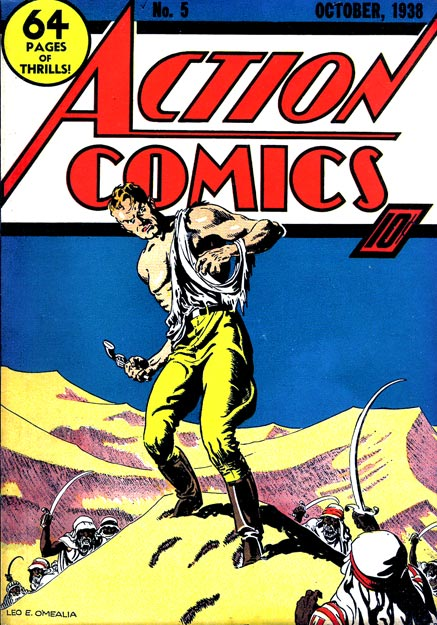 Action Comics 5 - Superman and the Dam