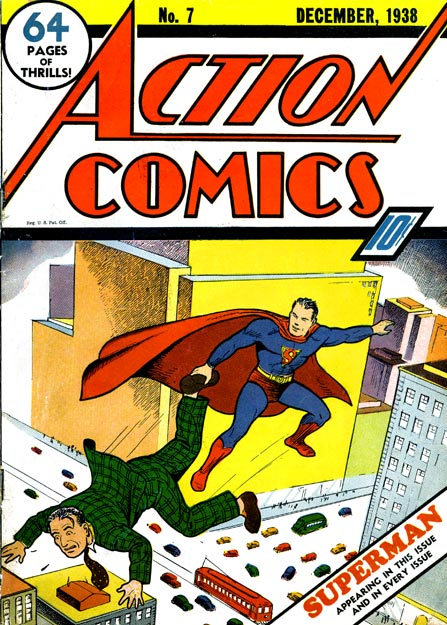 Action Comics 7 - Superman Joins the Circus