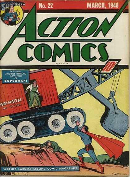 Action Comics 22