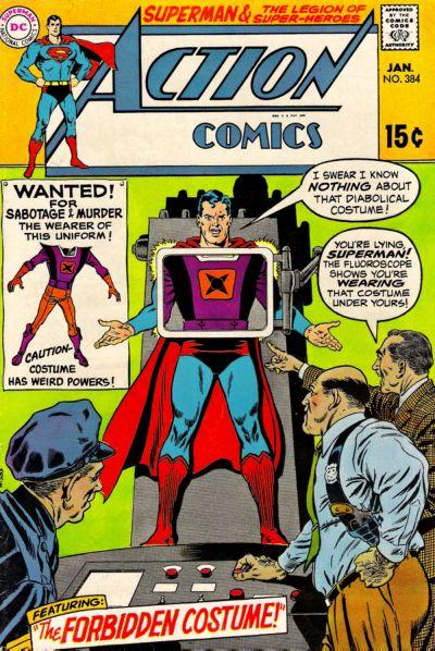 Action Comics 384 - The Forbidden Costume!
