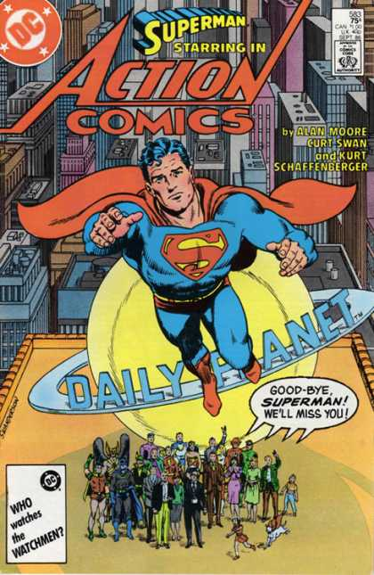 Action Comics 583 - Whatever Happened to the Man of Tomorrow?, Part Two