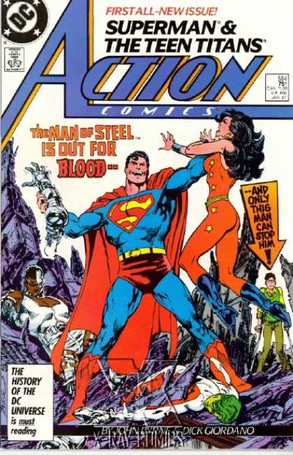 Action Comics 584 - Squatter!