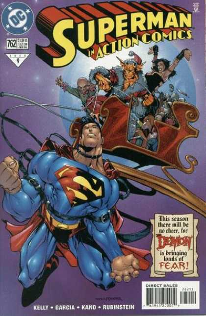 Action Comics 762 - All I Want For Christmas