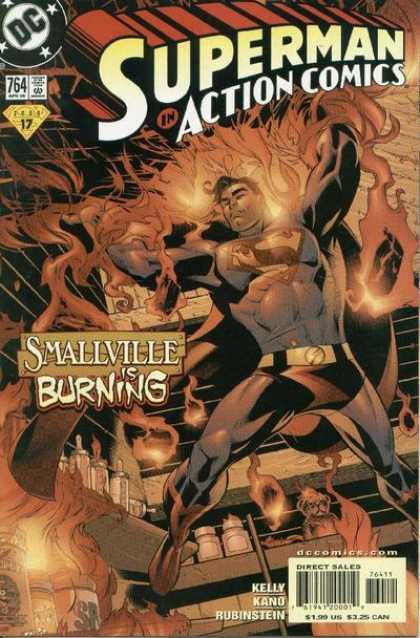 Action Comics 764 - Quiet After the Storm