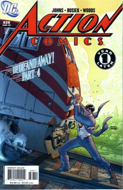 Action Comics 838 - Up, Up, and Away!, Chapter 4: Powers and Abilities
