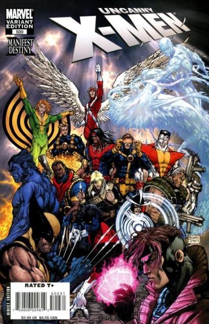 Uncanny X-Men 500 - SFX, Part One