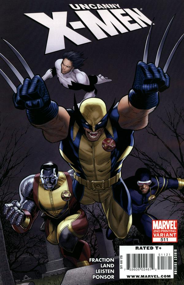 Uncanny X-Men 511 - Sisterhood Part 4