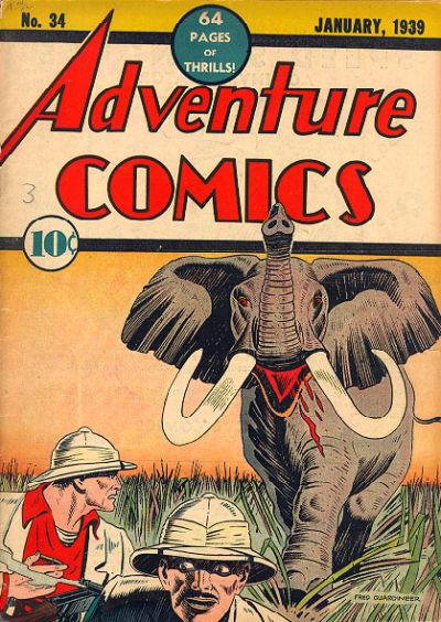 Adventure Comics 34