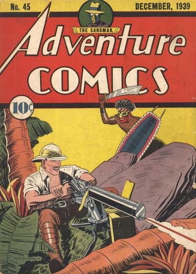 Adventure Comics 45
