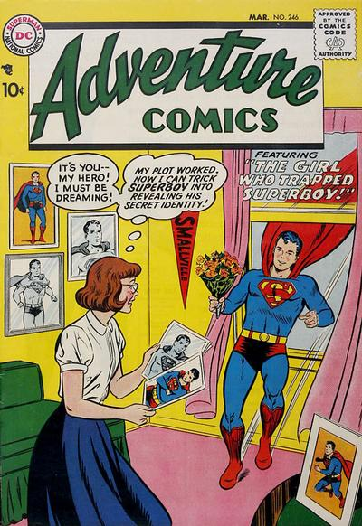 Adventure Comics 246 - The Girl Who Trapped Superboy