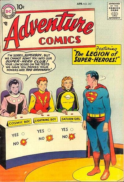 Adventure Comics 247 - The Legion of Super-Heroes