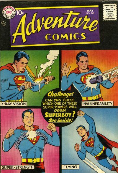 Adventure Comics 248 - The Great Super-Powers Contest!
