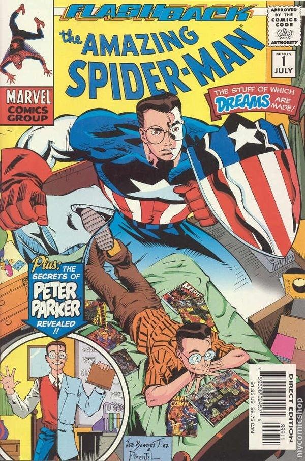 The Amazing Spider-Man -1 - amazing spider-man -1 (minus one)