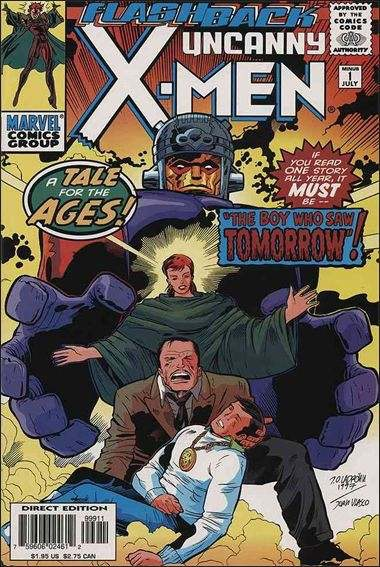 Uncanny X-Men -1 - The Boy Who Saw Tomorrow