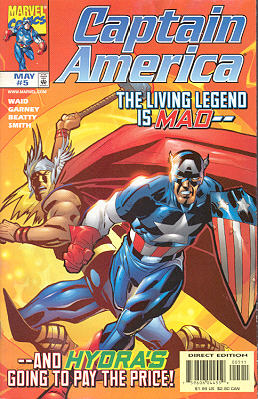 Captain America 5 - Power And Glory, Chapter One: Credibility Gap