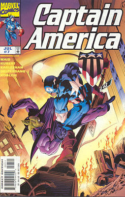Captain America 7 - Power And Glory, Chapter Three: Hoaxed