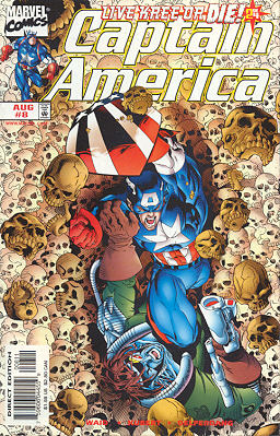 Captain America 8 - Live Kree Or Die! Chapter Two: Stuck in the Middle