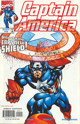 Captain America 9 - American Nightmare, Chapter One: The Bite Of Madness!