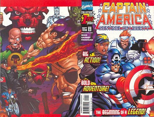 Captain America - La Sentinelle de la Liberté 1