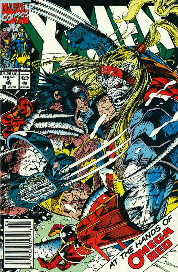 X-Men 5 - Blowback