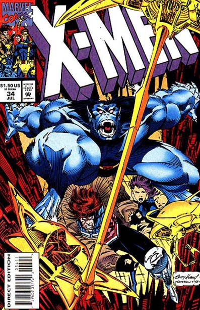 X-Men 34 - Life and Consequences