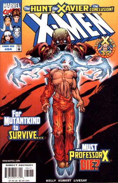 X-Men 84 - The Hunt for Xavier: Part 6