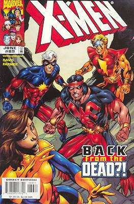 X-Men 89 - Yesterday's News