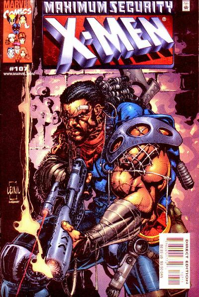 X-Men 107 - On the Yard!
