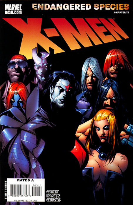 X-Men 203 - Blinded by the Light: Chapter 4