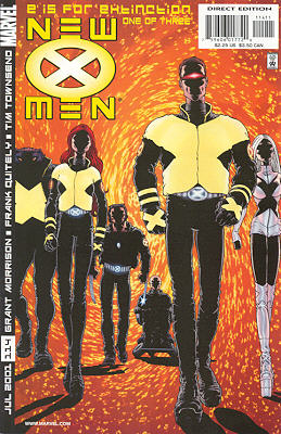 New X-Men 114 - E is for Extinction One of Three