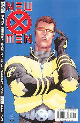 New X-Men 118 - Germ Free Generation Part One of Three